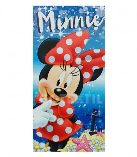 Toalla de Playa infantil MINNIE Disney Microfibra 70X140cm