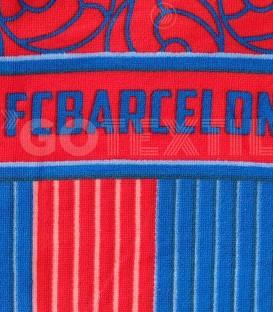 Detalle de la Toalla F.C. BARCELONA modelo 857 microfibra