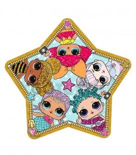Toalla playa infantil LOL SURPRISE con Forma de Estrella
