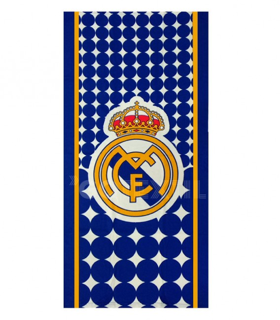 Toalla Real Madrid RM171155 Microfibra. Producto Oficial