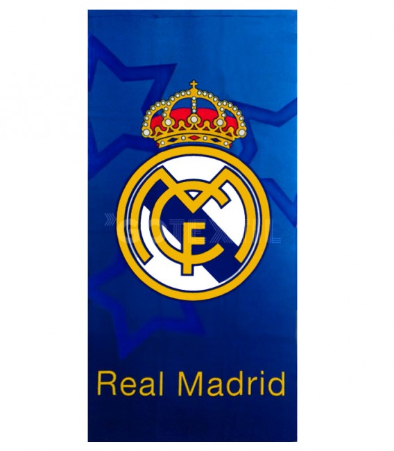 Toalla Real Madrid RM171103 Microfibra. Producto Oficial