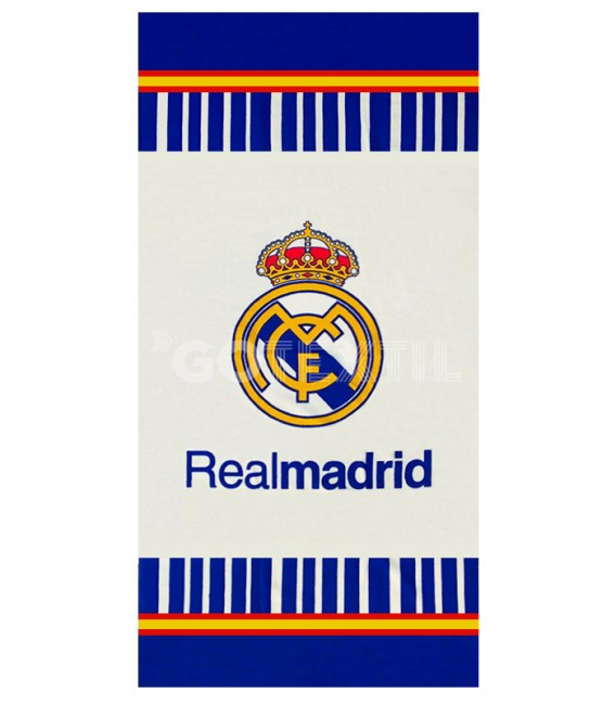 Toalla Real Madrid RM610040 Microfibra. Producto Oficial