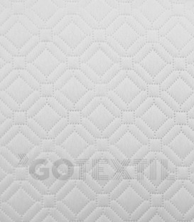 Detalle de la Colcha Bouti Reversible Blanca TOLRÁ CORONA 4509 Verano y Entretiempo