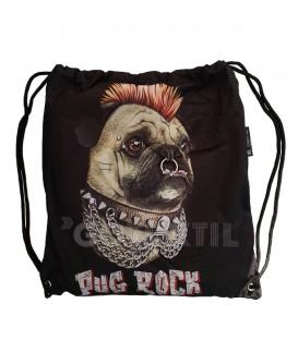 Envase Conjunto Bolsa y Toalla Playa Heavy Metal PUG ROCK B014 Microfibra 100x180cm