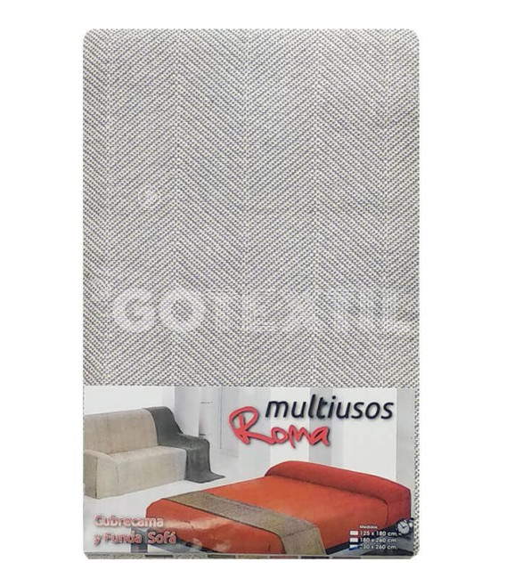 Foulard Cubre Sofá ROMA PERLA Multiusos