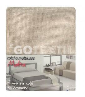 Foulard Cubre Sofá MALTA CRUDO Multiusos