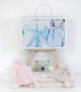 Colorido del Conjunto de MANTA Y NANITA 21285 Baby Happy 2 Piezas