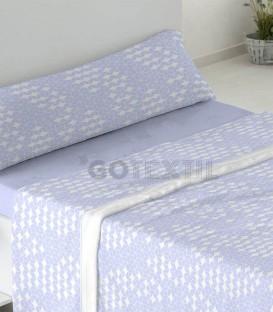 Sábanas Coralina Burrito Blanco Dorvel 746 Azul