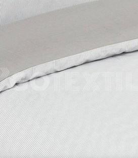 ¡ENVÍO GRATIS! Funda Nórdica Elegante Algodón CHICAGO Color Beige Cama de 150cm. ATENAS