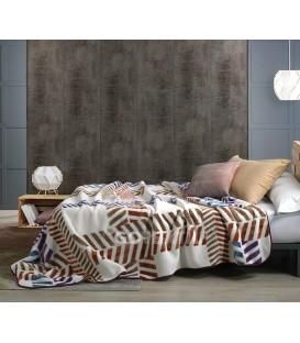 Manta HARMONY G49 Beige. Textils Mora