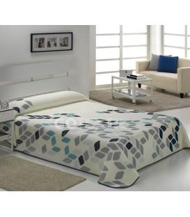 Manta HARMONY B43 Azul. Textils Mora