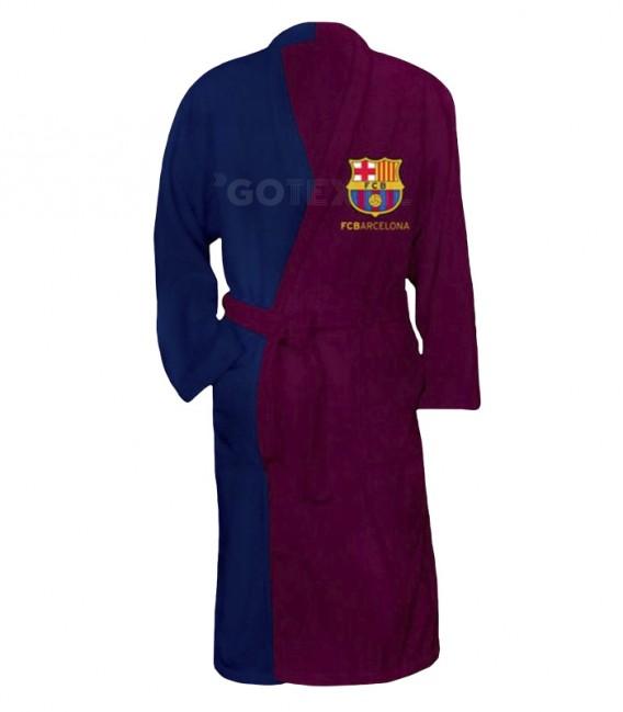 Albornoz Infantil FC BARCELONA 100% algodón