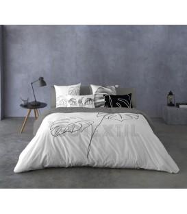 Funda Nórdica BLANCA Naturals 100% algodón cama de 150cm ¡CON ENVÍO GRATIS!