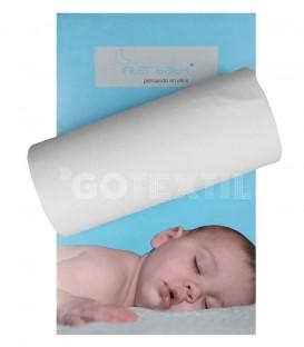 Sábana bajera ajustable 100% algodón para coche de bebé