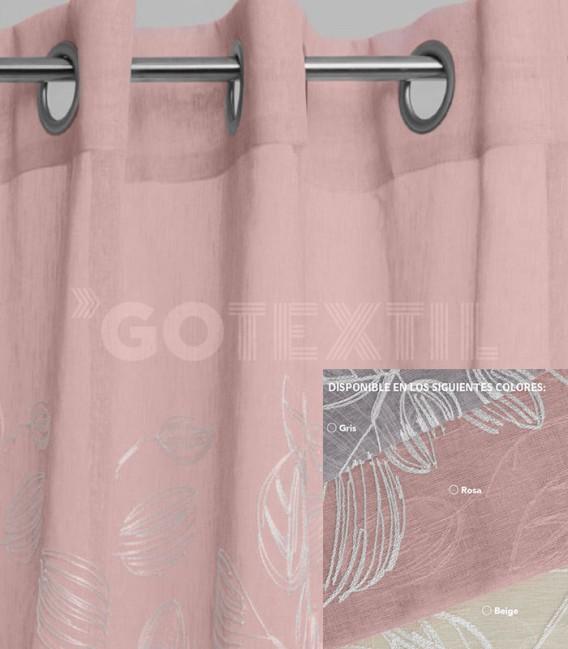 Cortina confeccionada con Ollaos 91297 BH TEXTIL 145x260cm