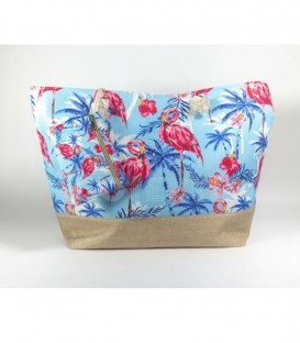BOLSO DE PLAYA FLAMINGOS 9400S