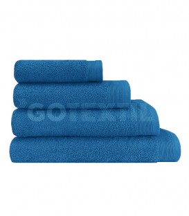 Toalla VENUS Azul Rizo 100% Algodón 500 gr. GOTEXTIL