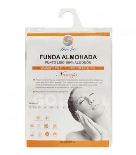 Funda de Almohada Impermeable y Transpirable Algodón NARANJA DON ALMOHADÓN