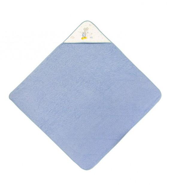 Capa de Baño Disney Counting Sheep MICKEY Azul 100% Algodón