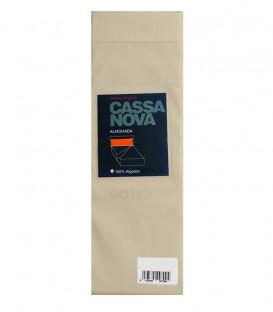 Pack 2 Fundas de Almohada Algodón 100% color Arena Cassa Nova