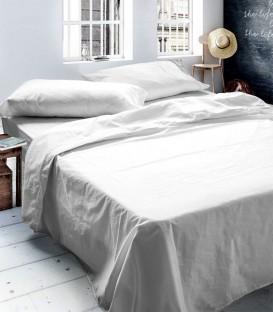 Juego de sábanas TENCEL color Blanco. Naturals ¡CON ENVÍO GRATIS!