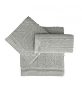 GOTEXTIL Juego de toallas 3 Piezas CONCEPT algodon color Gris. Vidal Home