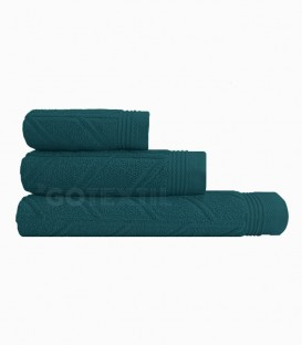 GOTEXTIL Juego de toallas 3 Piezas CONCEPT color Verde. Vidal Home