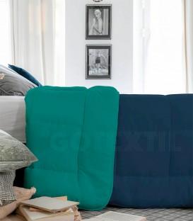 Relleno Nórdico CALIFORNIA BICOLOR 400 gr. Calassic Blue/Esmeralda ICELANDS - GOTEXTIL