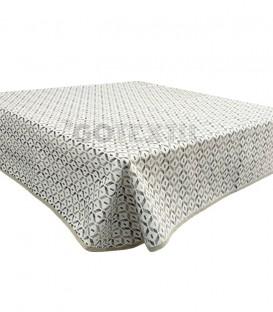 GOTEXTIL Tapete mesa camilla rectangular modelo OLMECA BEIGE Marcavi