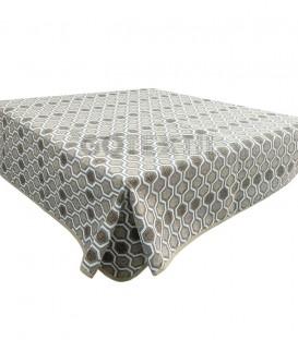 GOTEXTIL Tapete mesa camilla rectangular modelo TOLTECA BEIGE Marcavi
