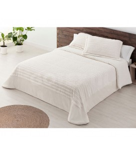 Edredón Confort Sherpa ROMA MARFIL Miracle Home - GOTEXTIL