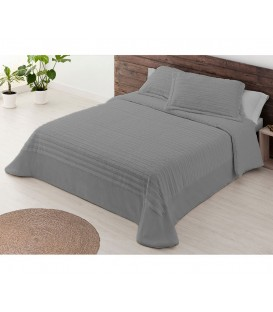 Edredón Confort Sherpa ROMA GRIS Miracle Home - GOTEXTIL