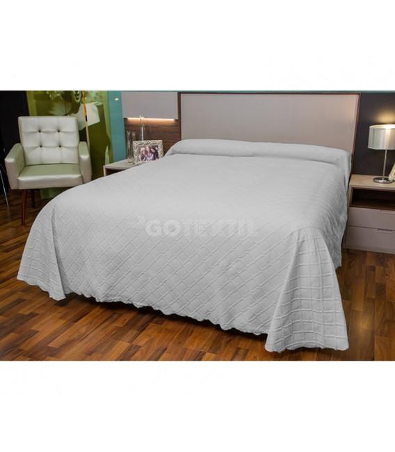 GOTEXTIL Colcha Jacquard 31113 Gris. BH Textil
