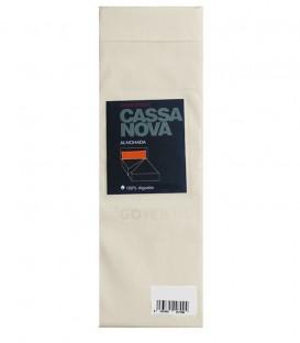 GOTEXTIL Pack 2 Fundas de Almohada Algodón 100% color Marfil Cassa Nova