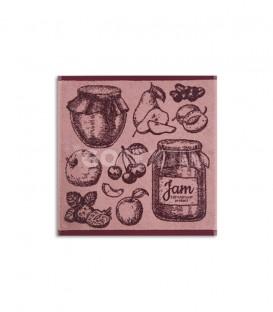TROVADOR. Paño de Cocina Modelo 298 JAM Rosa GOTEXTIL
