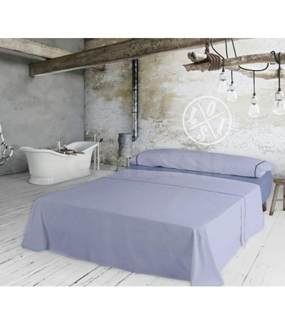 Juego de Sábanas Lois modelo IBIZA lila 100% Algodón - GOTEXTIL