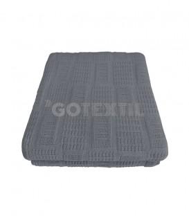GOTEXTIL Foulard Cubre Sofá Multiusos de Punto M4 GRIS 230x260 cm JORDÁ