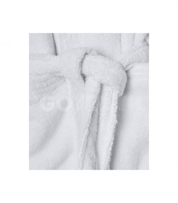 GOTEXTIL Albornoz ZERO TWIST color Blanco DON ALGODON Rizo
