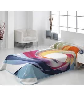 ¡ENVÍO GRATIS! Manta Mora HARMONY 153 Multicolor GOTEXTIL