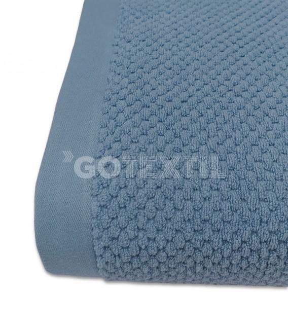 Tejido Toalla Trovador ONYX Grano de Arroz Color Azul 100% Algodón GOTEXTIL