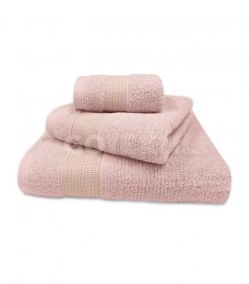 GOTEXIL Juego de toallas Algodón NOOR Rosa. Vidal Home