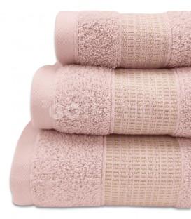 GOTEXIL Juego de toallas Algodón NOOR Rosa Ampliado. Vidal Home
