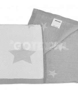GOTEXTIL Colcha Bouti Juvenil Reversible 7622 STARS Gris. ATENAS Detalle