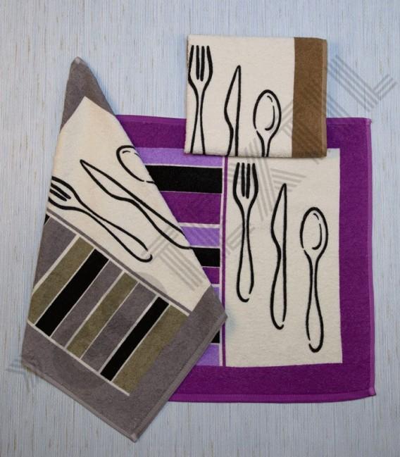 Paño de Cocina Arcanova modelo Cubiertos