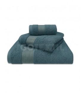 GOTEXTIL Juego de toallas Algodón NOOR Azul. Vidal Home
