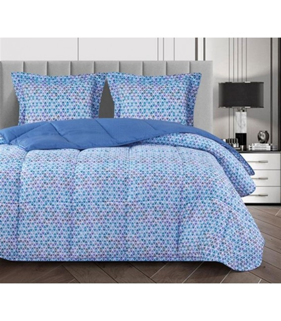 GOTEXTIL - Edredón Nórdico Conforter 2039 TALLIN azul Atenas