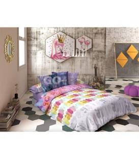 GOTEXTIL Funda Nórdica reversible Lois FESTIVAL cama 150cm Original