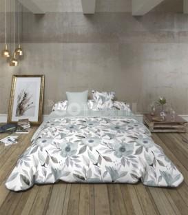 GOTEXTIL Funda Nórdica Pierre Cardín reversible BARTRA gris cama 150cm