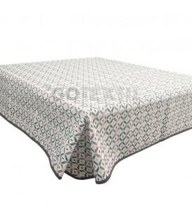 GOTEXTIL Tapete mesa camilla rectangular modelo OLMECA ROJO Marcavi