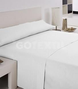 GOTEXTIL Juego de Sábanas blanco IRIS Hotel Económicas